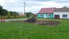 Dětské hřiště za školou